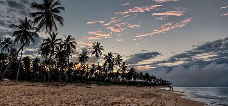 The peaceful and sandy shores of the Dominican Republic